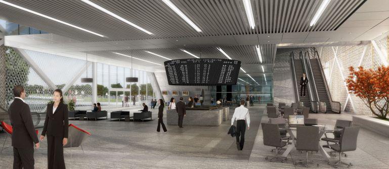 Proposal for Punjab National bank Head Quarters - Romi Khosla Design Studio