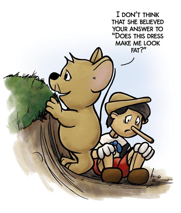 Hiding Pinocchio-Abelsen