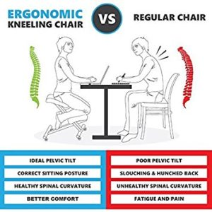 posture alignment chair home office desk chairs top 5 kneeling review possible courtesy of sleekform