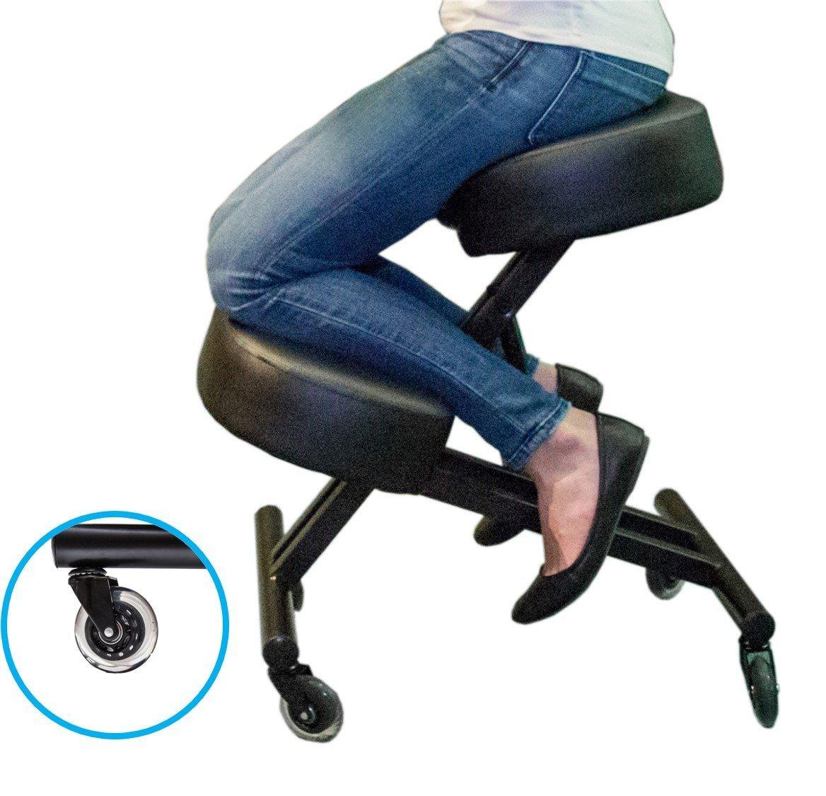 amazon kneeling chair lounge sleekform 104 posture possible
