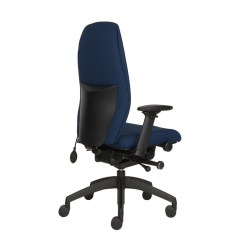 Add Headrest To Office Chair Cheap Glider Chairs Positiv Plus High Back Ergonomic From Posturite