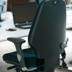Ergonomic Chair No Armrests Target Grey Rh Logic 400 Office From Posturite