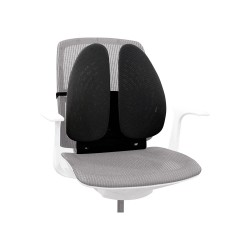 back support office chair white computer chairs lumbar cushions rolls wedges from posturite angel