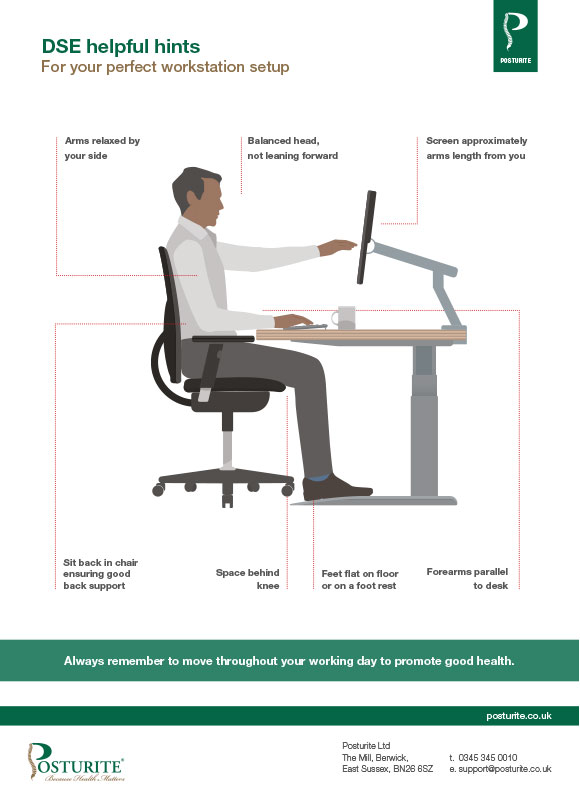 ergonomic chair design guidelines cowhide covers advice sheets