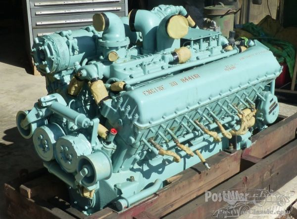 Part Rolls-royce Rover Engine- And Parts Centurion Tank