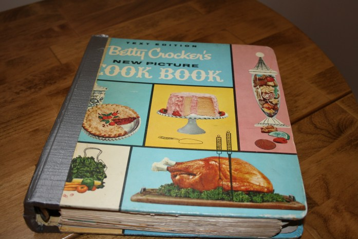 The Joy of Cookbooks -- my well-used copy of Betty Crocker's best selling cookbook