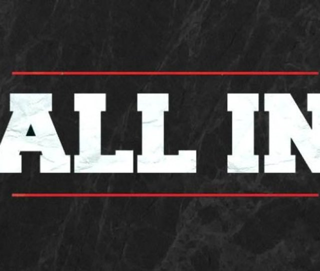 All In To Air On Pay Per View First Hour Airing On Wgn America