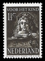 NVPH 397 - Kinderzegel 1941