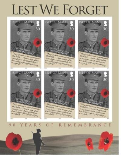 Eiland Man postzegel WW1