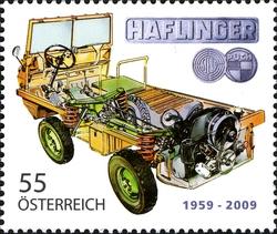stamp_austria_steyr_puch_haflinger_2009