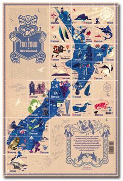 Tikitour-postzegels