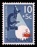 1 postzegel strijd tegen kanker Nederland 1955 (664)
