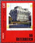 Christo-postzegel