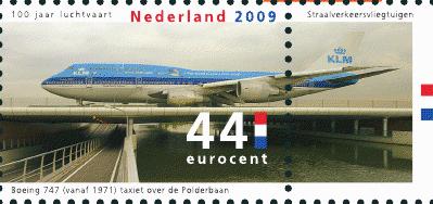NVPH 2673 - Boeing 747 KLM