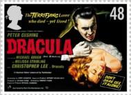 4 postzegel Dracula Groot-Brittanië 1998