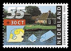 NVPH 1468 - Zomerzegel 1991