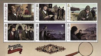sherlock-holmes-alderney-stamps