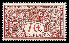 NVPH 84 - Tuberculose-zegel