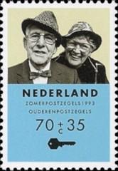 NVPH 1558 - Zomerzegel, ouderenzegel 1993