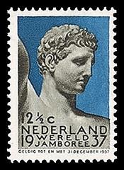 NVPH 295 - 1937 Wereld Jamboree Vogelenzang