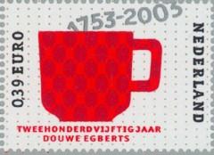 NVPH 2193 - Douwe Egberts, rood koffiekopje