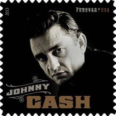 johnny cash postzegel