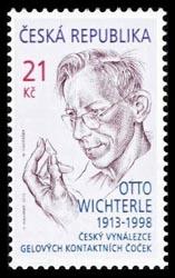 Otto Wichterle postzegel