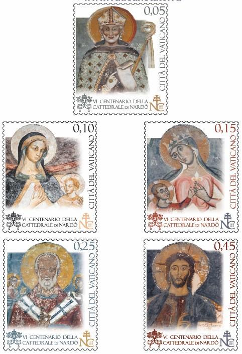 vaticaan postzegels