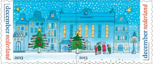 Duo-postzegels - Decemberzegels 2013 (2)