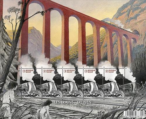 De wereld van de treinen