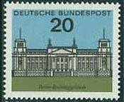 reichstag postzegel