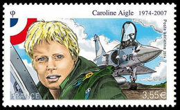 Caroline-Aigle-Frankrijk-postzegel