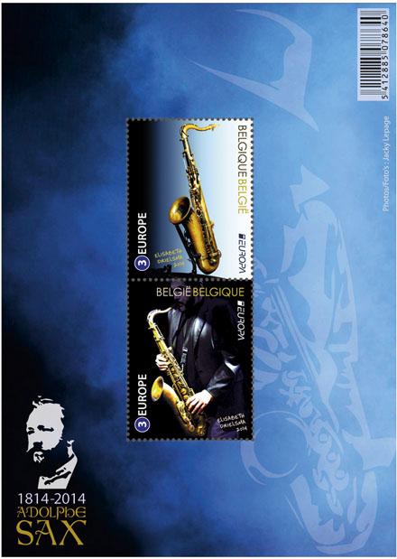 7 juli Europa-uitgifte - De Saxofoon