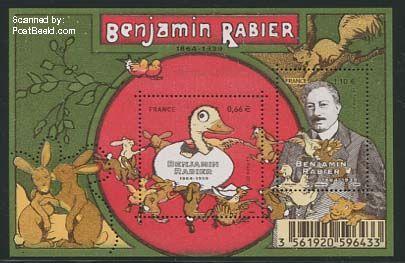 Benjamin Rabier stamp
