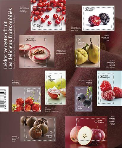 Postzegels België 2015 Vergeten fruit 29 juni