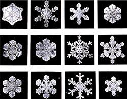 Sneeuwkristallen hebben altijd 6 armen