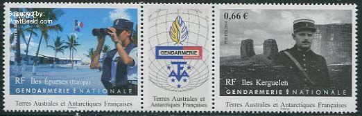 Postzegel Frans Antactica Gendarmerie np31416