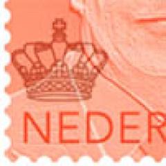 Willem Alexander postzegel met andere kroon