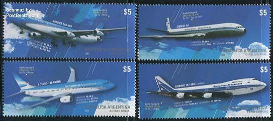 Argentinië postzegel 2014