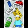 lego postzegel