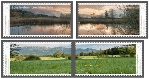 Nartuur postzegels Liechtenstein 2015