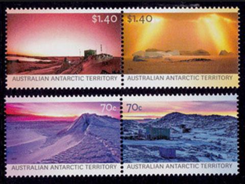 Colours of Australian Antarctic Territory