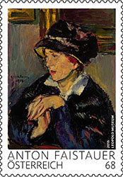 Anton Faistauer postzegel