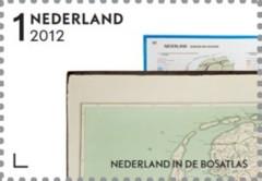 NVPH 2937 - Nederland in de Bosatlas, dijk naar Ameland