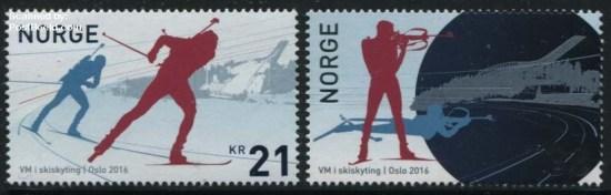 Noorwegen Postzegel 2016
