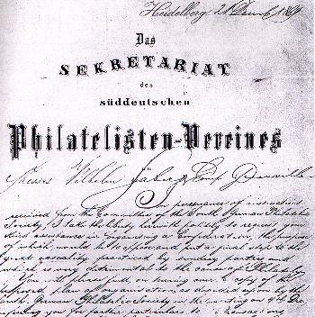 Urkunde-Erster-Philatelistenverein-kl