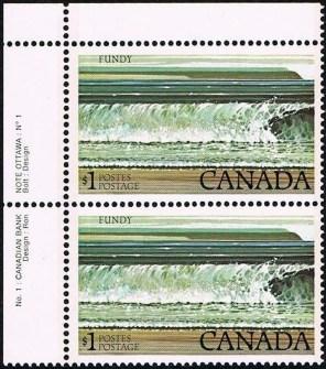 Canada 726 paar plaat 1