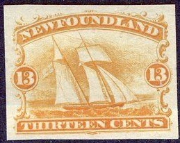 Newfoundland Uni 30 Idian proef