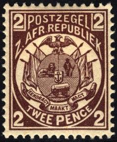 Transvaal Mi 14