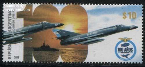 postzegel Argentinië 2016